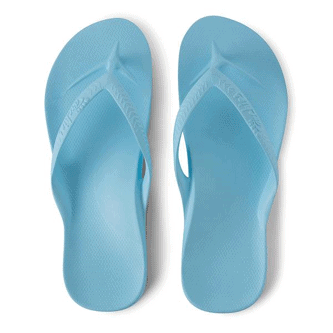 ARCHIES THONGS - Sky Blue Image